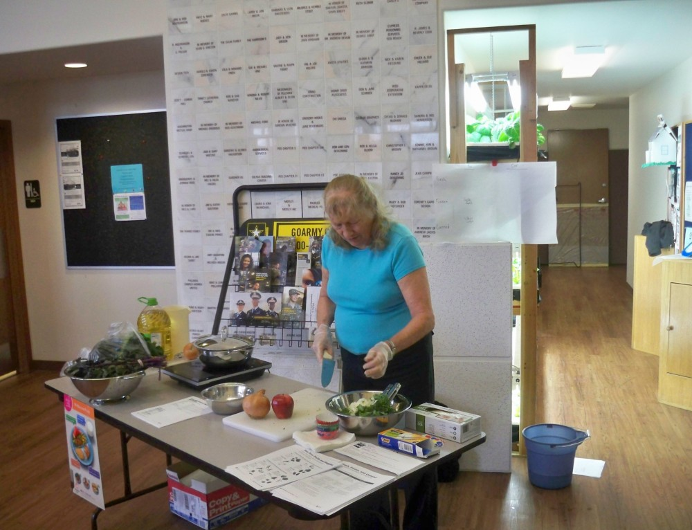 Fall Food Demonstrations:  Skill Sharing For Our Community
